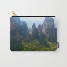 Meditation up to Meteora | Greece | Nature Carry-All Pouch