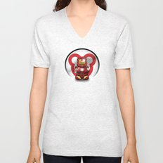 Super Bears - the Invincible One Unisex V-Neck