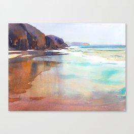 Papagayo Beach Canvas Print