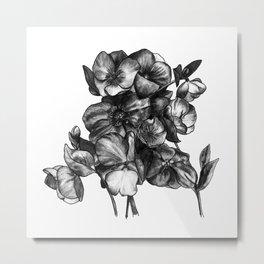 Watercolor Flower Bouquet - Katrina Niswander Metal Print