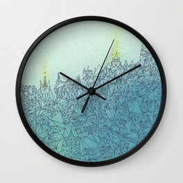 A Quiet Raft Wall Clock