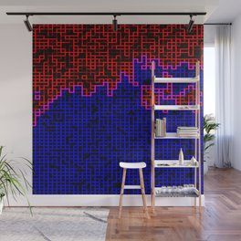 Bleeding Pixels Wall Mural