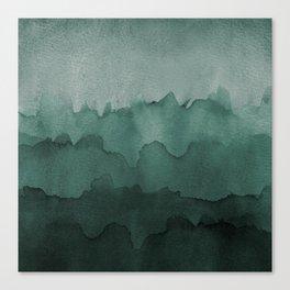 Mermaid Wash Canvas Print