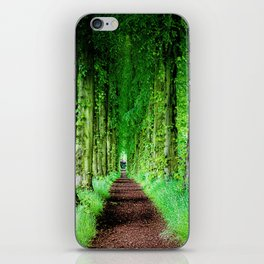 Lady Lucy's Walk iPhone Skin