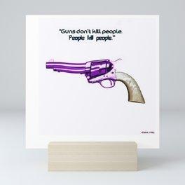 American Problems Pop-Art Gun Series #2 by Jéanpaul Ferro Mini Art Print