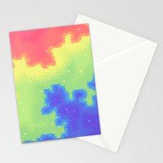 Rainbow Pride Flag Galaxy Stationery Cards