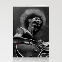 zappa Stationery Cards featuring Frank Zappa by Katon Aqhari