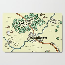 Sherwood Forest Cutting Board