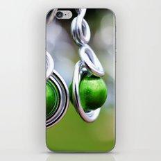 dangles earrings iPhone & iPod Skin