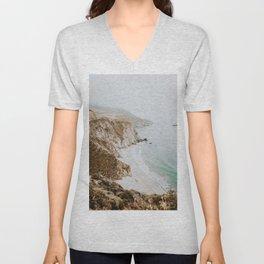 california coast v / big sur Unisex V-Neck