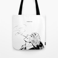 birthday Tote Bags featuring Birthday  by yamineftis