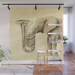 Tuba Wall Mural