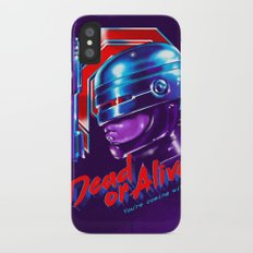 Dead or Alive iPhone X Slim Case
