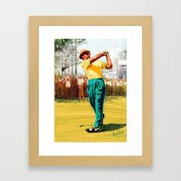 Slam'n Sammy Snead Framed Art Print