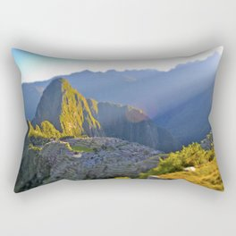 Machu Picchu Rectangular Pillow