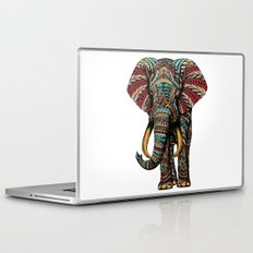 Ornate Elephant (Color Version) Laptop & iPad Skin