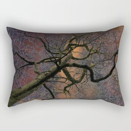 Crazy tree Rectangular Pillow