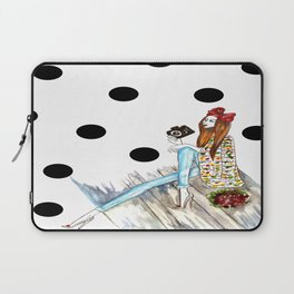 Dots & bow Laptop Sleeve