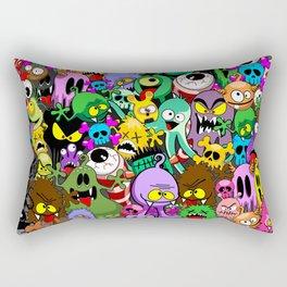 Monsters Doodles Characters Saga Rectangular Pillow