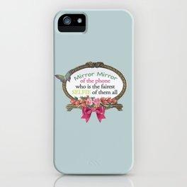 Selfie Mirror iPhone Case