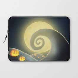 Nightmare Before Christmas: Spiral Hill Laptop Sleeve