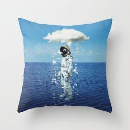 Crystallization 2 Throw Pillow