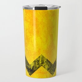Distressed Charlie Brown Travel Mug