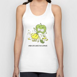 When Life Gives You Lemons by dana alfonso Unisex Tank Top