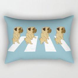 Puggy Road Rectangular Pillow