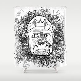 Kong King of the Jungle Shower Curtain