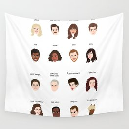 Cutie Pies of Pawnee Wall Tapestry