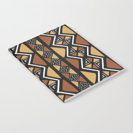 African mud cloth Mali Notebook