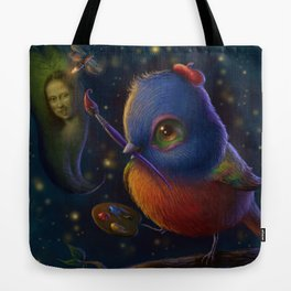 The Painting Bunting Tote Bag