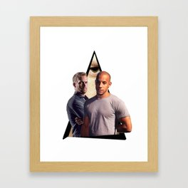 Youtriangle ∆ Fast & Furious Framed Art Print
