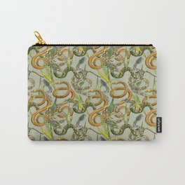 Hiss Snakes Repeat Pattern Carry-All Pouch
