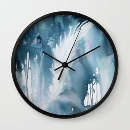 Feather Wall Clock