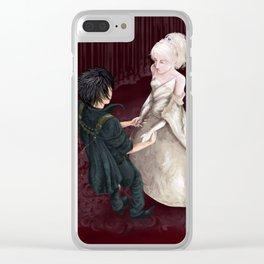 Noctis & Lunafreya Clear iPhone Case