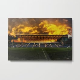 East Stand West Bromwich Albion Football Club Metal Print