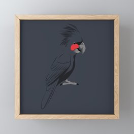 Palm Cockatoo Framed Mini Art Print