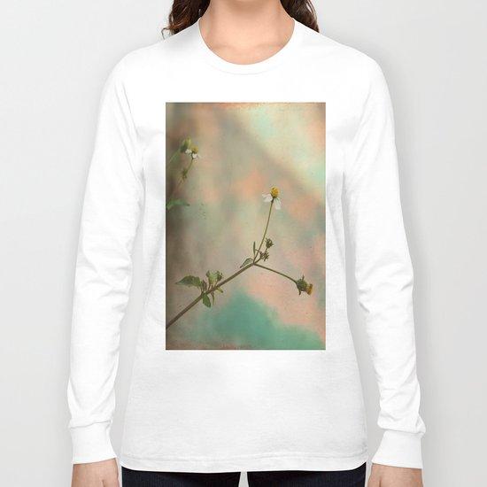 Simple Flowers Long Sleeve T-shirt
