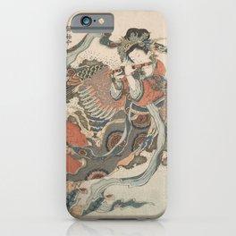 Mystical Bird (Karyōbinga) - Hokusai iPhone Case