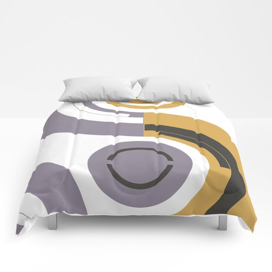 Curves #2 Comforters