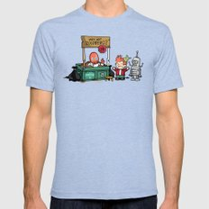 The Doctor is In.... Why not Zoidberg? MEDIUM Mens Fitted Tee Tri-Blue