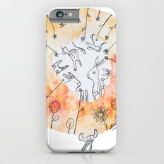 Meadow of rabbits Slim Case iPhone 6s