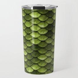 Mermaid Scales   Green with Envy Travel Mug