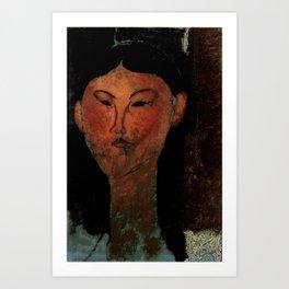 "Amedeo Modigliani ""Beatrice Hastings"" (1915) Art Print"