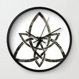 Rustic Celtic Knot Wall Clock