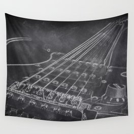 Stratocaster Wall Tapestry
