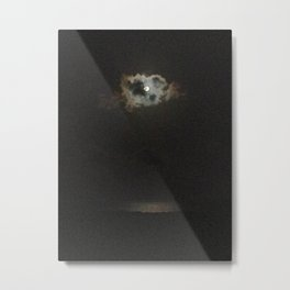 Moon's Eye over Canegarden Bay, St. Croix, USVI Metal Print