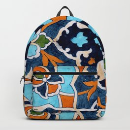 Mediterranean tile Backpack